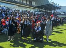 Finalistas de Faro abençoaram pastas no Estádio S. Luís