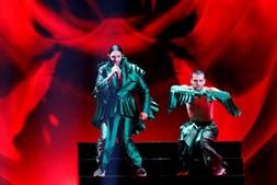 Conan Osíris na semi-final da Eurovisão
