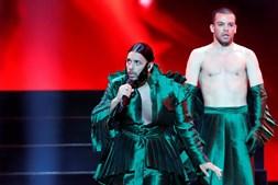 Conan Osiris, de Portugal, na primeira semi-final da Eurovisão 2019