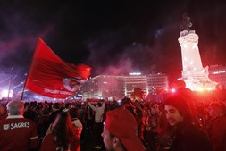 Benfica, festa, Marquês