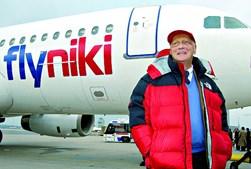 Lauda tinha paixão pela aviação