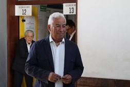 António Costa votou em Benfica