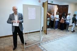 Rui Rio votou no Porto