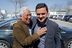 António Costa com Pedro Marques