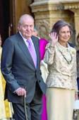 Rei Juan Carlos e a Rainha Sofia