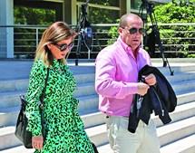 Paulo Pereira Cristóvão no Tribunal de Cascais, onde decorre o julgamento
