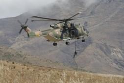 Operações Especiais dos três ramos militares e da GNR no exercício SOFEC 2019, que decorreu na Madeira