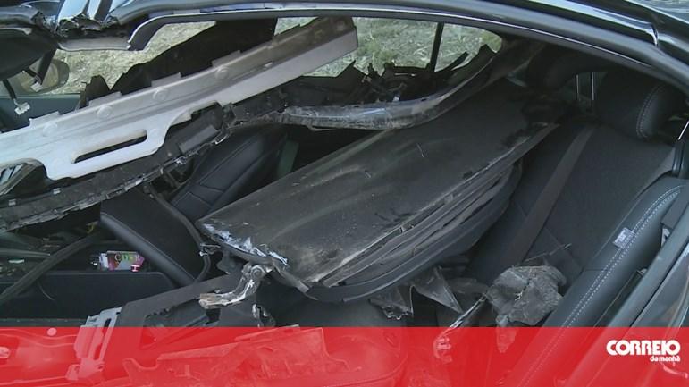 Acidente Santana Lopes: Veja As Imagens Do Carro Que Santana Lopes Conduzia Após