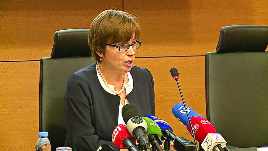 Catherine De Bolle é diretora da Europol desde março de 2018