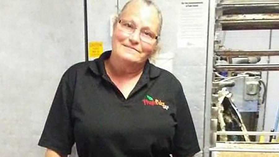 Bonnie Kimball, funcionária da Escola Secundária Regional Mascoma Valley