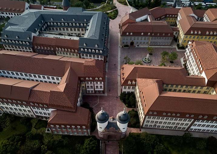 Campus da Huawei na China