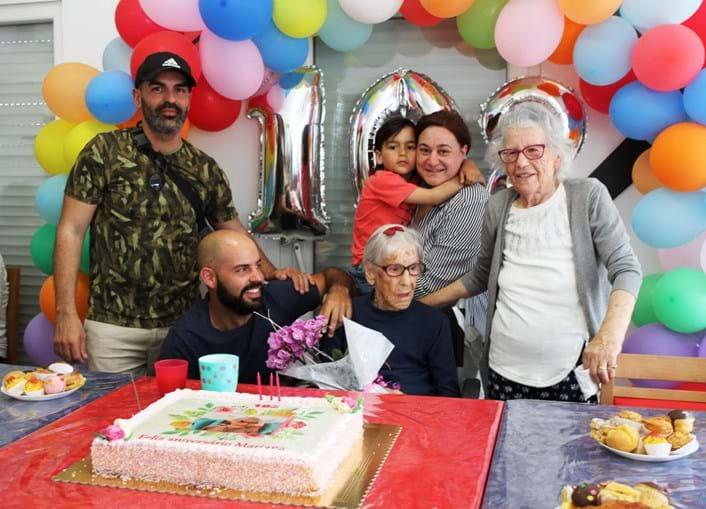 Mariana celebrou o 102º aniversário