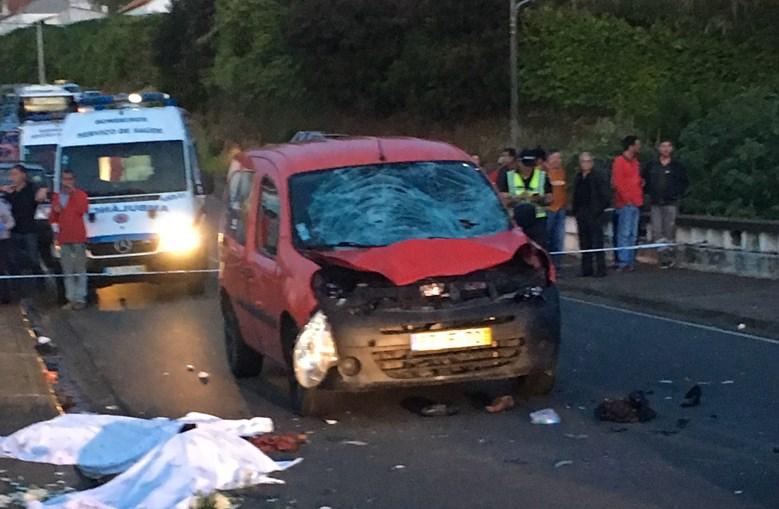 Carro atropela durante procissão e mata duas mulheres nos Açores