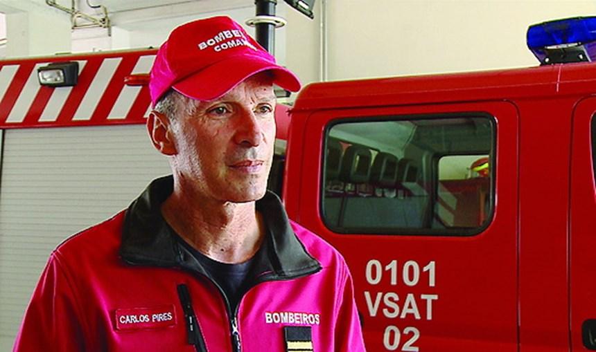 Comandante Carlos Pires, dos Bombeiros Aveiro Velhos, explicou o auxílio à vítima