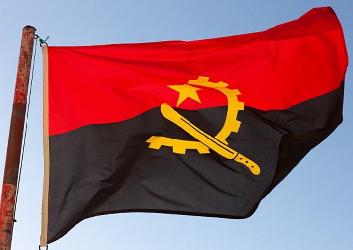 Bandeira Angola