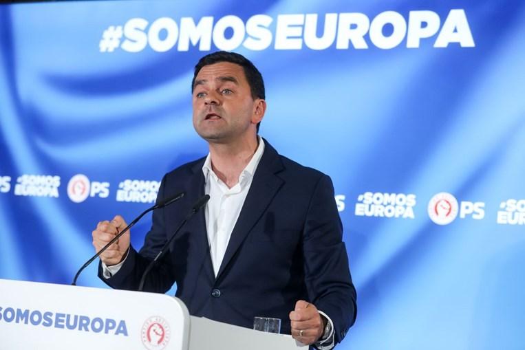 Pedro Marques no discurso de vitória nas Eleições Europeias