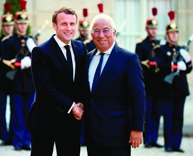 Macron e Costa