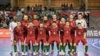 Seleção Portuguesa de Futsal defronta a Sérvia nos oitavos de final