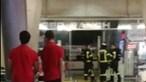 Incêndio deflagra em restaurante na Estação de metro da Gare do Oriente em Lisboa