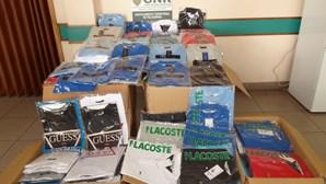 GNR apreende mais de 500 artigos contrafeitos Portugal