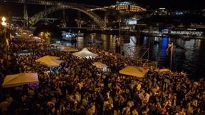 """Ponte D. Luís I no Porto encerrada e lojas de conveniência fechadas mais cedo no São João para """"que todos festejem em casa"""""""