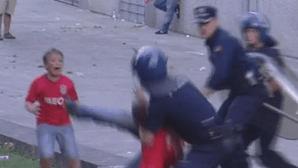Tribunal agrava pena de polícia que agrediu adeptos do Benfica em Guimarães