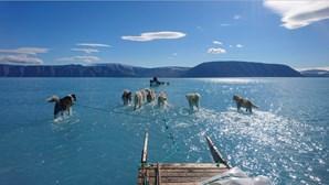 A fotografia que mostra o aquecimento global na Gronelândia