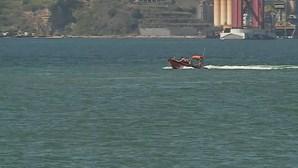 Autoridades procuram jovem desaparecido no rio Tejo