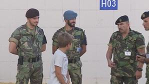 Hospital militar sem financiamento para água, luz e medicação