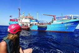 Navio 'Iuventa' pertence a organização não governamental alemã