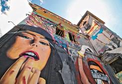 A lenda de floripes na cidade de Olhão, aos olhos do artista Frazão na EN125
