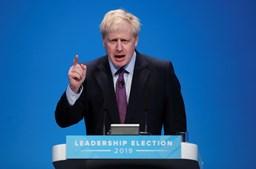 Boris Johnson e o poder