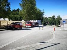 Incêndio deflagra no Alameda Shopping no Porto