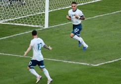 Argentina vence Venezuela e garante passagem às meias-finais da Copa América
