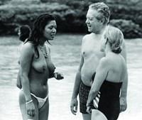 Mário Soares de férias em 1986