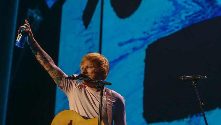 Ed Sheeran em Lisboa