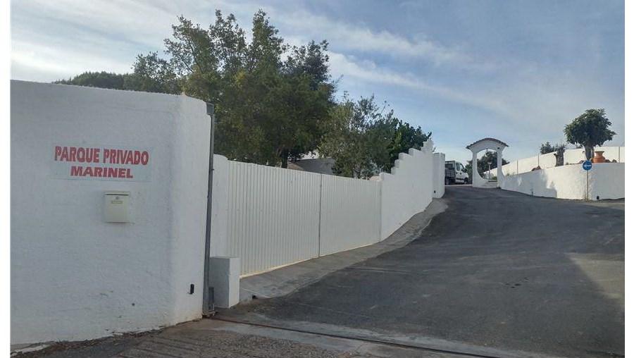 Casa que foi fechada pela GNR em Ourique