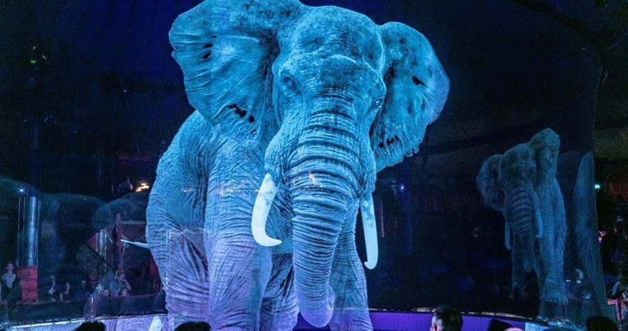 Circo alemão troca animais por hologramas