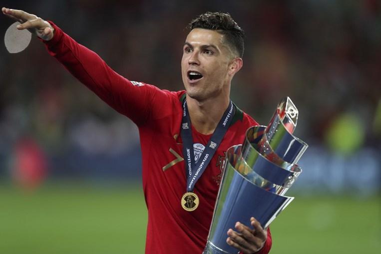 Cristiano Ronaldo, no final da Liga das Nações
