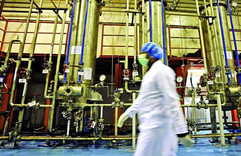 Se o Irão produzir mais de 300 quilos de urânio enriquecido ficará em clara violação do acordo nuclear de 2015