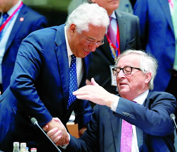 António Costa com Juncker