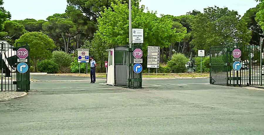 Prova decorria no interior da Base Naval de Lisboa, no Alfeite, Almada