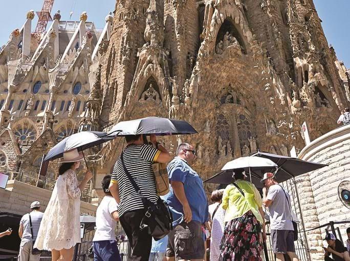 Em Espanha são esperadas temperaturas acima dos 42º C em várias regiões