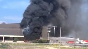 Dez mortos após queda de avião privado em aeroporto do Texas