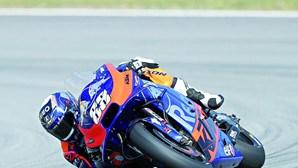 Miguel Oliveira em terceiro nos treinos livres de MotoGP em Brno