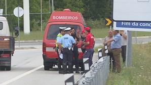 Um morto em despiste de mota na A41 em Gondomar