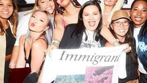 Rihanna provoca Trump nas redes sociais em relação à política de imigração