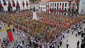 22 mil pães benzidos na Festa dos Tabuleiros em Tomar