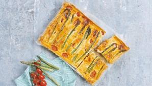 Saborosa quiche muito fácil de preparar e deliciosa!