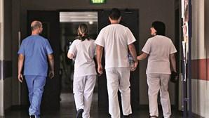 Centenas de enfermeiros exigem mais direitos em manifestação em Lisboa